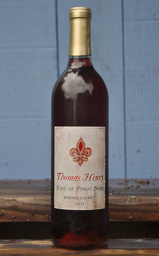 Thomas Henry 2011 Rosé of Pinot Noir 750ml Wine Bottle