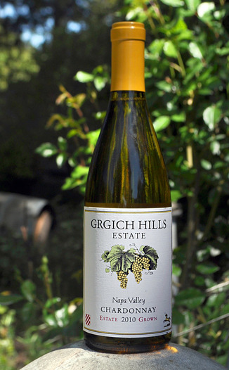 Grgich Hills Estate 2010 Napa Valley Chardonnay 750ml Wine Bottle
