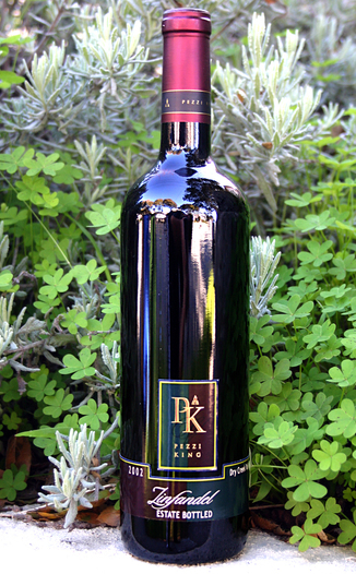 Pezzi King Vineyards 2002 Estate Zinfandel 750ml Wine Bottle