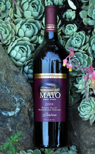 Mayo Family Winery 2009 Ricci Vineyard Zinfandel 750ml Wine Bottle