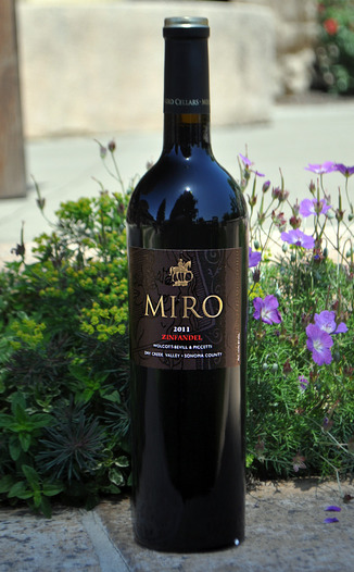 Miro Cellars 2011 Zinfandel 750ml Wine Bottle