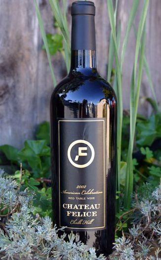 Chateau Felice 2002 American Celebration 750ml Wine Bottle