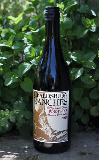 Healdsburg Ranches 2011 Appellation Series Pinot Noir Russian River Valley 750ml Wine Bottle