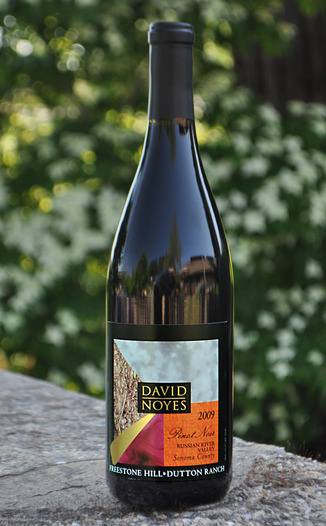 David Noyes Wines 2009 Freestone Vineyard Pinot Noir 750ml Wine Bottle