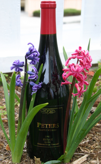 Peters Family Winery 2002 Syrah 750ml Wine Bottle