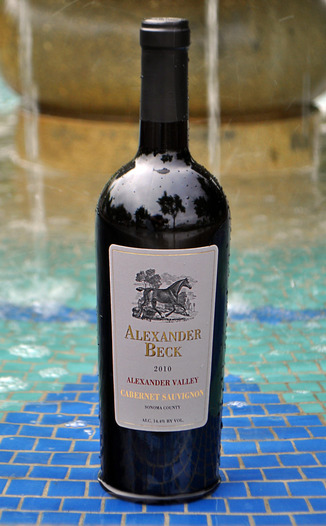 Alexander Beck Cellars 2010 Cabernet Sauvignon  750ml Wine Bottle