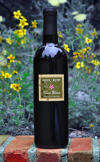 Bruce Wayne Winery 2011 Ella's Blend Napa Valley Red Wine 750ml Wine Bottle