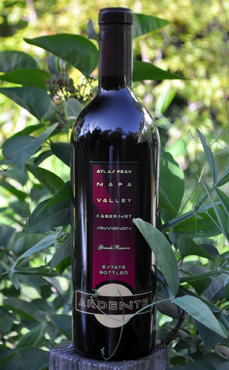 Ardente Estate 2001 Atlas Peak Napa Valley Grande Reserve Cabernet Sauvignon 750ml Wine Bottle