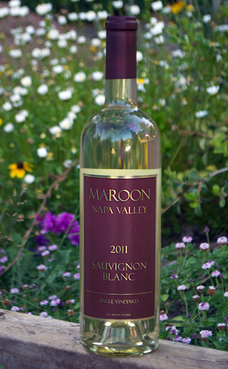 Maroon Wines 2011 Napa Valley Sauvignon Blanc 750ml Wine Bottle