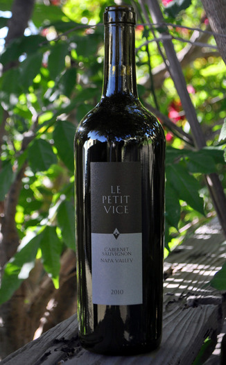Vice Versa Wines 2010 Le Petit Vice Cabernet Sauvignon 750ml Wine Bottle