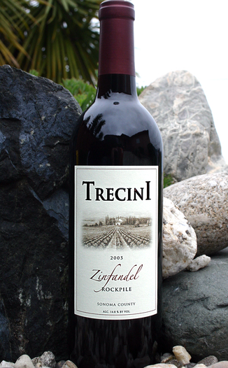 Trecini Cellars 2005 Rockpile Zinfandel 750ml Wine Bottle