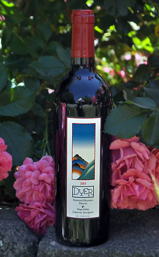 Dyer Vineyard 2003 Cabernet Sauvignon Diamond Mountain 750ml Wine Bottle