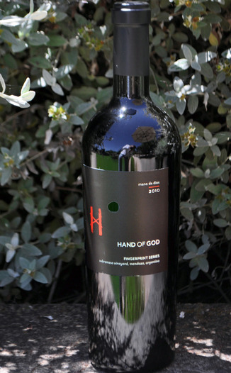 Hand Of God 2010 Fingerprint Series Red 750ml Wine Bottle