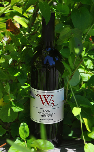 W3 - William White Wines 2006 Napa Valley Merlot 750ml Wine Bottle