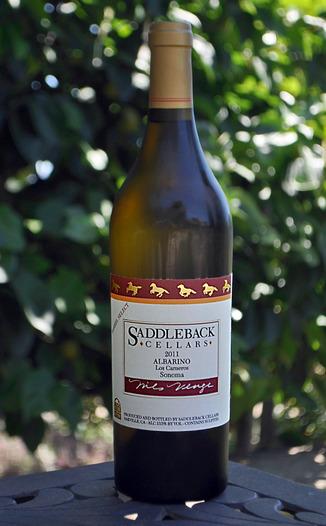Saddleback Cellars 2011 Los Carneros Barrel Select Albarino 750ml Wine Bottle
