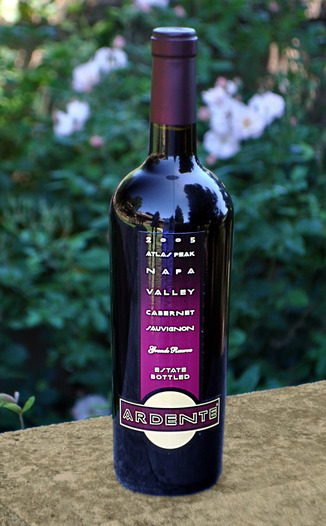 Ardente Estate Winery 2005 Atlas Peak Cabernet Sauvignon 750ml Wine Bottle