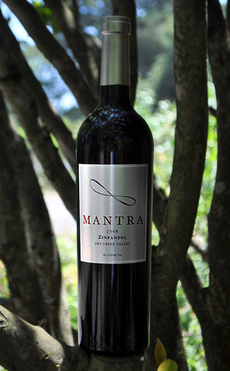 Mantra 2008 Zinfandel 750ml Wine Bottle