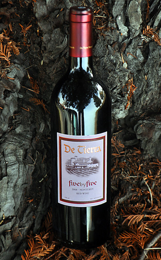 De Tierra Vineyards 2008 Five by Five Bordeaux Blend 750ml Wine Bottle