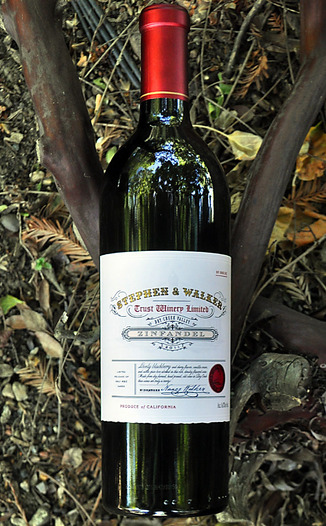 Stephen & Walker 2011 Dry Creek Valley Zinfandel 750ml Wine Bottle