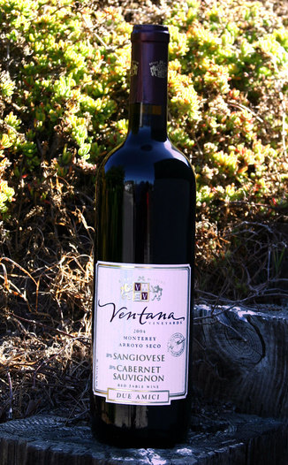 Ventana Vineyards 2004 Due Amici 750ml Wine Bottle