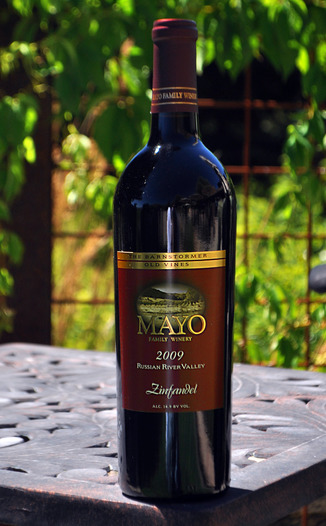 Mayo Family Winery 2009 The Barnstormer Zinfandel 750ml Wine Bottle