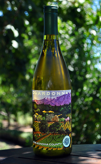 Katarina Wines 2009 Field Vineyard Chardonnay 750ml Wine Bottle