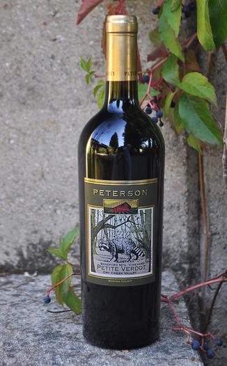 Peterson Winery 2010 Bradford Mountain Dry Creek Valley Petite Verdot 750ml Wine Bottle
