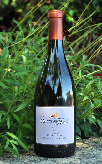 Sparrow Hawk Winery  2011 SparrowHawk Reserve Chardonnay 750ml Wine Bottle