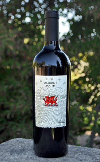 Trefethen Family Vineyards 2010 Dragon's Tooth Napa Valley Red Wine 750ml Wine Bottle