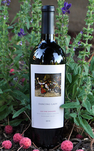 Della Costa Family Vineyards 2010 Dancing Lady Old Vine Zinfandel 750ml Wine Bottle