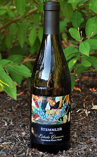 Robert Stemmler Winery 2011 Carneros Estate Grown Pinot Noir 750ml Wine Bottle