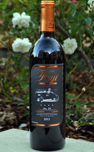 Foyt Family Wines 2011 No. 14 Oak Knoll District Cabernet Sauvignon 750ml Wine Bottle