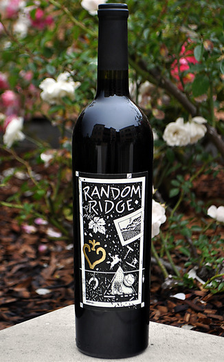 Random Ridge 2009 Mount Veeder Cabernet Sauvignon 750ml Wine Bottle