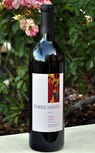 Three Saints Wines 2007 67 Red Blend 750ml Wine Bottle