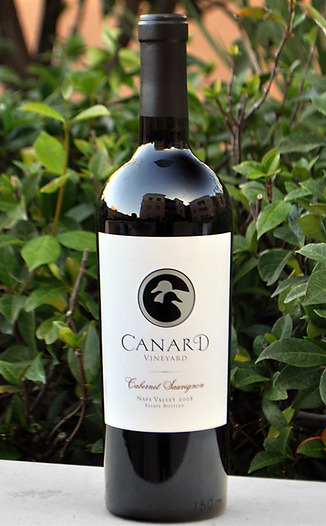 Canard Vineyard 2008 Napa Valley Cabernet Sauvignon 750ml Wine Bottle