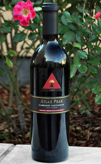 Atlas Peak Wines 2007 Spring Mountain Cabernet Sauvignon 750ml Wine Bottle