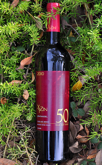 XYZin Wines 2010 Russian River Valley 50 Year Zinfandel 750ml Wine Bottle