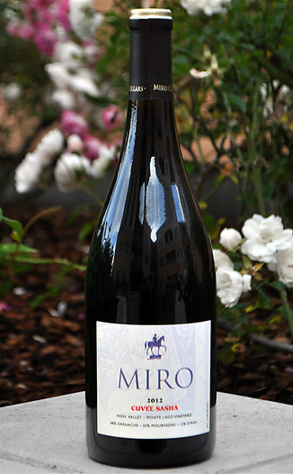 Miro Cellars 2012 Cuveé Sasha, Monte Lago Vineyard 750ml Wine Bottle