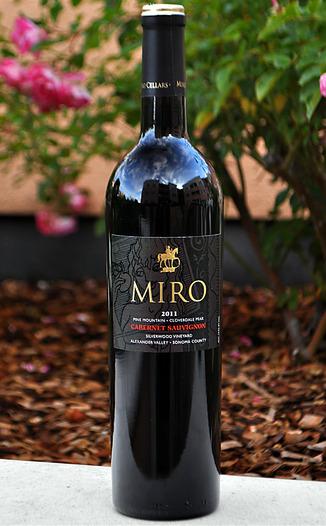 Miro Cellars 2011 Silverwood Vineyard Cabernet Sauvignon