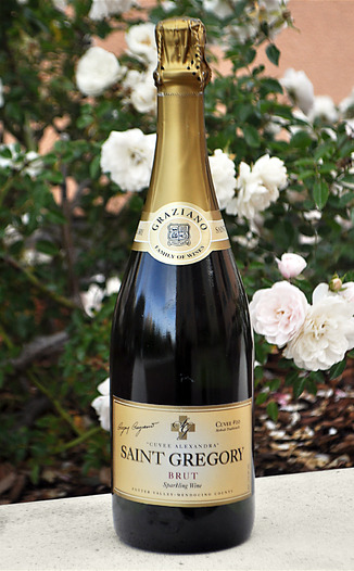 Graziano Family of Wines NV Saint Gregory Cuvee Alexandra Methode Traditionelle Brut 750ml Wine Bottle