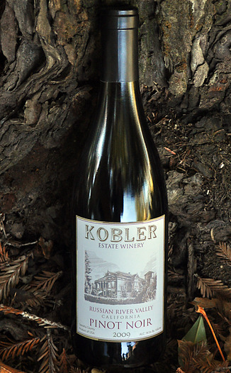 Kobler Winery 2009 Russian River Valley Pinot Noir 750ml Wine Bottle