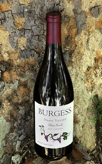 Burgess Cellars 2010 Napa Valley Petite Sirah 750ml Wine Bottle