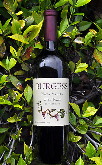 Burgess Cellars 2010 Napa Valley Petit Verdot 750ml Wine Bottle