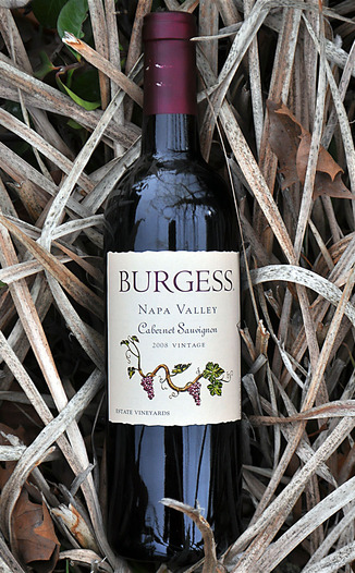 Burgess Cellars 2008 Napa Valley Cabernet Sauvignon 750ml Wine Bottle