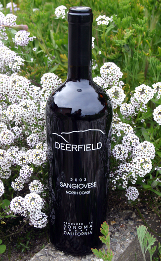 Deerfield Ranch 2003 Sangiovese 750ml Wine Bottle