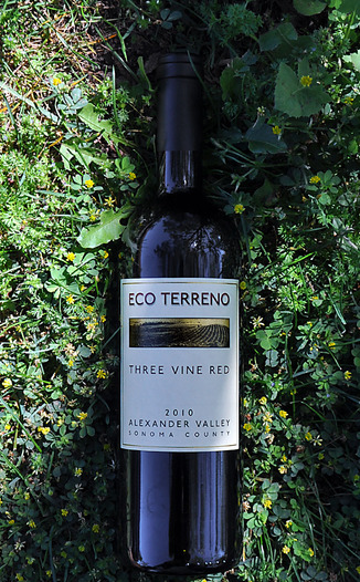 Eco Terreno 2010 Alexander Valley Three Vine Red 750ml Wine Bottle