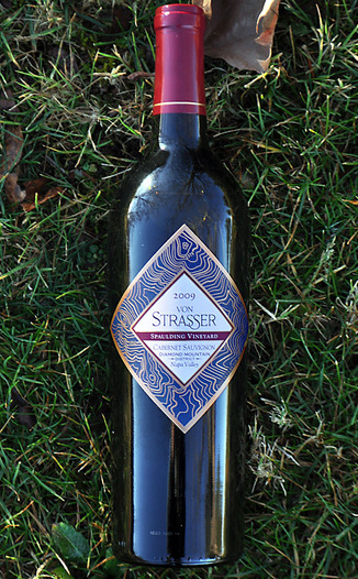 von Strasser Winery 2009 Spaulding Vineyard Cabernet Sauvignon 750ml Wine Bottle