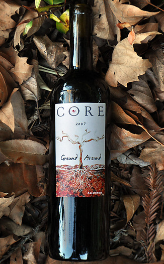 CORE Family Winery 2007 Ground Around California Red Wine 750ml Wine Bottle