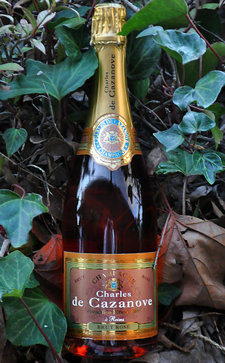 Charles de Cazanove NV Brut Rosé Champagne 750ml Wine Bottle