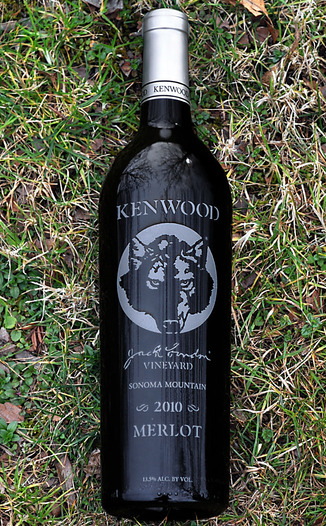 Kenwood Vineyards 2010 Jack London's Vineyard Sonoma Mountain Merlot 750ml Wine Bottle